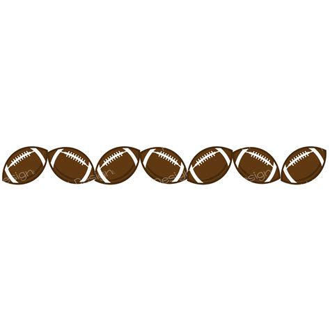 football clipart free football border clipart clipartion