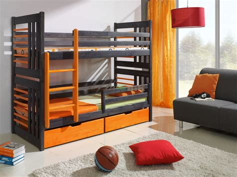 bunk beds with mattresses included brand new children bunk bed roland with drawers
