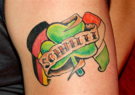 irish flag tattoo flags of ireland and germany tattooimages biz