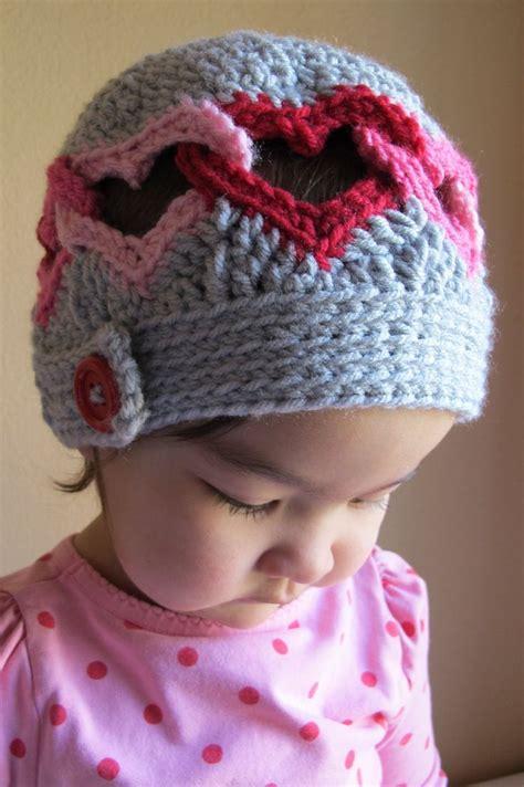 Heart Hat Pattern | crochet heart hat pattern crochet pinterest