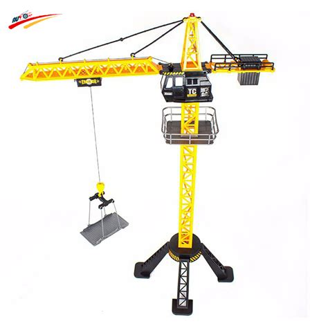 Rc Tower Crane Mainan Remote Crane 88cm rc crane remote crane tower 6 channel simulation tower crane 360 degree rotate