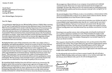 Sle Parole Support Letter From Employer sle parole support letter from 28 images 90 parole