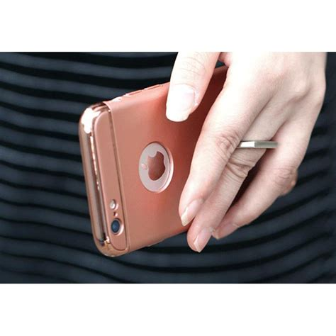 Casing Cover Hp Bumper With Iring Iphone 6 6s esiafone iring hook remax lock series ring holder