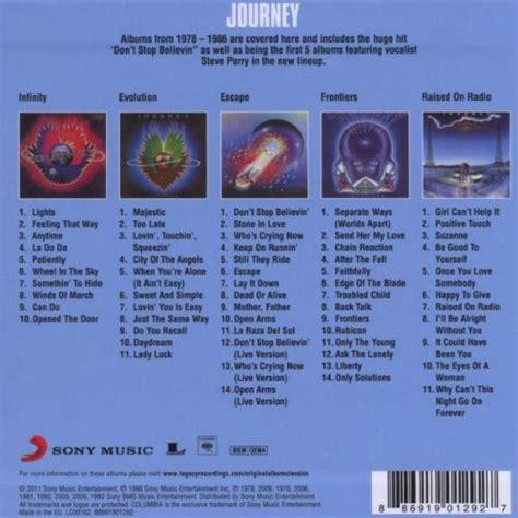 Cd Audio Original Import Heaten Album The Evolution Of Chaos Journey Original Album Classics Box Set Import Audio