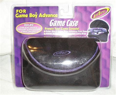 Plastik Pouch Gba Gameboy Advance boy gameboy advance carry and new sale