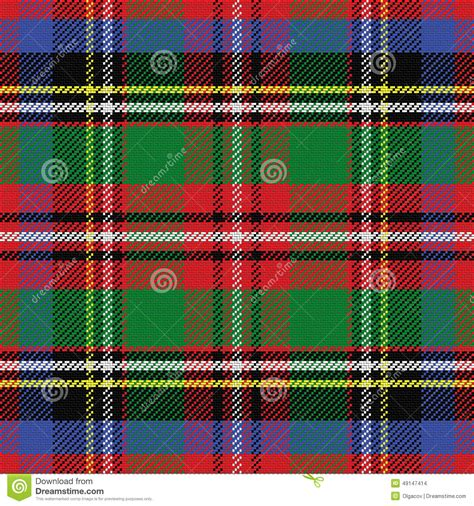 scottish tartan seamless pattern blue and red vector vector seamless red and blue scottish tartan vector