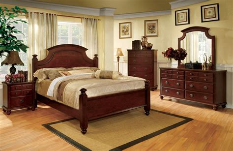 European Bedroom Sets by Gabrielle Ii European Cherry Bedroom Set With