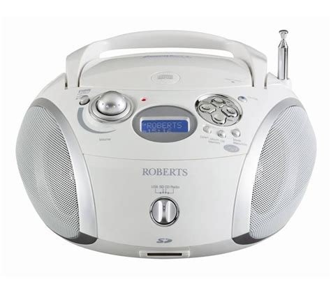 Usbsd Digital Player Silver zoombox 2 portable dab radio cd player usb sd card slot white silver ebay