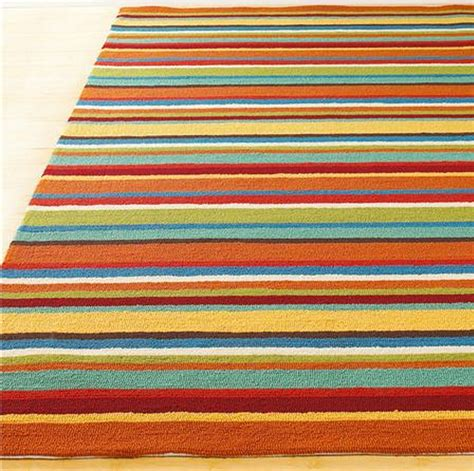 10 Rectangular Striped Rugs For Your Living Room   Cute