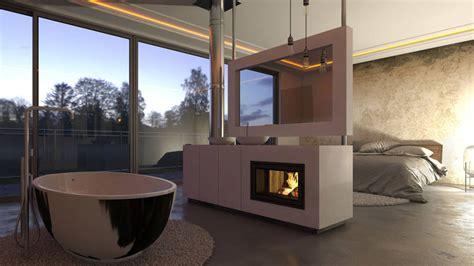 schlafzimmer mit bad luxus feeling zu hause integriert das bad ins schlafzimmer