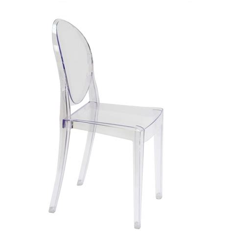 Ghost Dining Chair Set Of 2 Style Ghost Dining Chair Clear Color