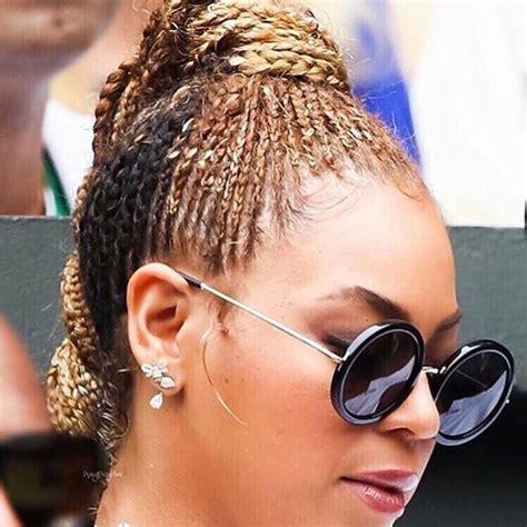tennis braids styles beyonce s new cornrows braid it pinterest cornrows