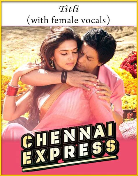 download mp3 from chennai express titli with female vocals karaoke chennai express karaoke