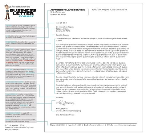 Business Letter Header And Footer How To Write A Letter In Business Letter Format The Visual Communication Designing
