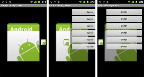 android drawer layout width android er slidingdrawer in horizontal