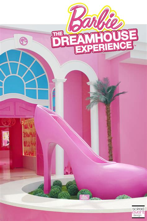 design barbie dream house the barbie dreamhouse experience tour soiree event design