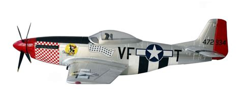 detail 6 channel p 51 mustang 1400mm rc warbird