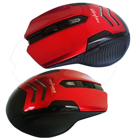 Mouse Wirless Advance Wm5xx mouse wireless advance wm501c merah elevenia