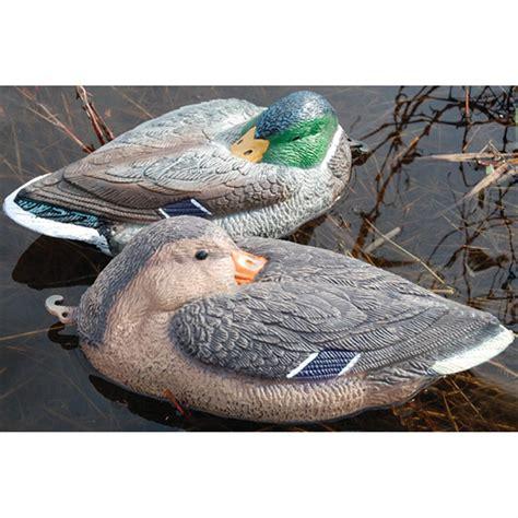 Sleeper Duck Decoys by Tanglefree 17 Quot Mallard Sleeper Decoys 2 Drakes 2 Hens
