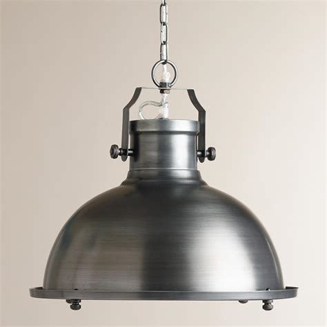Metal Pendant Lights Nautical Metal Hanging Pendant L World Market