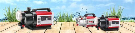 garten pumpen gartenpumpen mit benzin oder elektroantrieb al ko