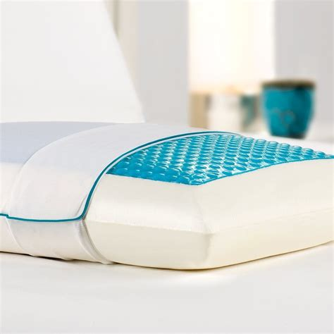 Comfort Revolution Cooling Gel Pillow comfort revolution cool comfort hydraluxe gel memory foam