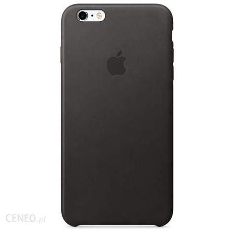 apple leather iphone 6s plus czarny mkxf2zm a etui na telefon ceny i opinie ceneo pl
