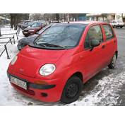 Red Daewoo Matiz Life In Krak&243w 1jpg  Wikimedia Commons
