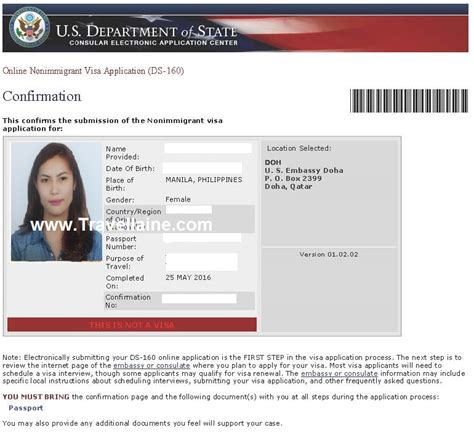 appointment letter for us visa philippines how to obtain ds 160 confirmation number fatare