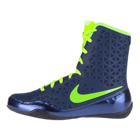 neon shoes nike ko boxing shoes blue neon green fighters europe