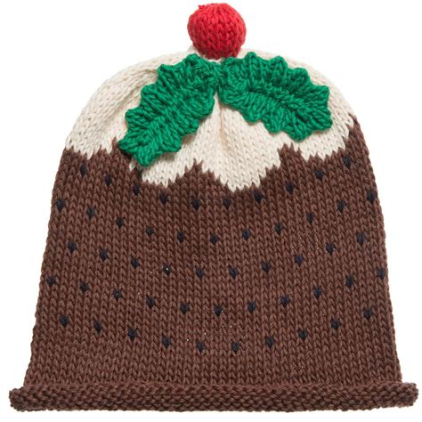 knitting pattern xmas pudding hat merry berries knitted christmas pudding baby hat