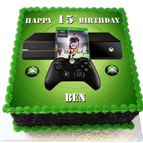 Xbox And Fifa   Ee  Birthday Ee   Cake Ecks Cakes