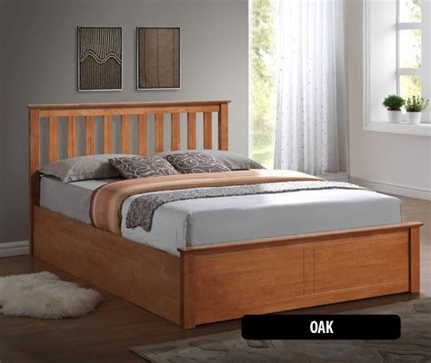 small double wooden ottoman bed birlea phoenix 4ft small double wooden ottoman bed
