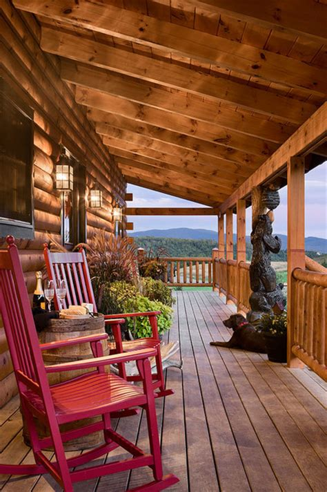 log cabin porch log homes cabins coventry log homes the bear rock