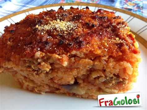 cucina messinese riso al forno alla messinese ricetta di fragolosi it