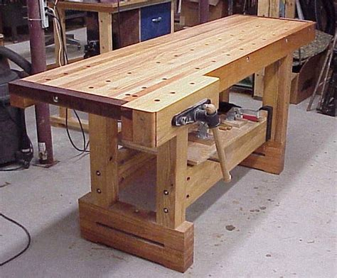 making a woodworking bench industrial workbench work bench