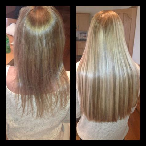 thin hair after extensions hair extensions before and after thin hair long hairstyles