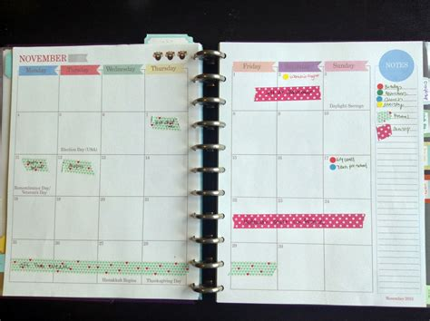 free printable arc planner pages calendar printable images gallery category page 48