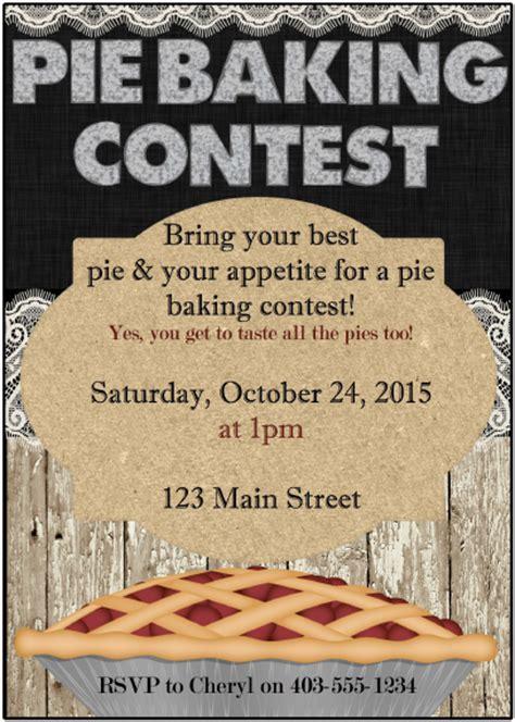 contest best day pie baking contest printables munchkins
