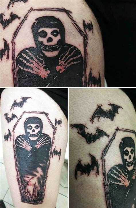 misfits tattoo best 20 misfits ideas on