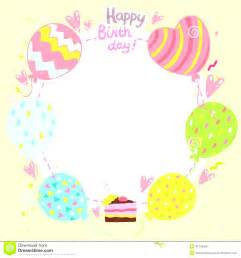Cards Templates Free by Birthday Card Template Cyberuse