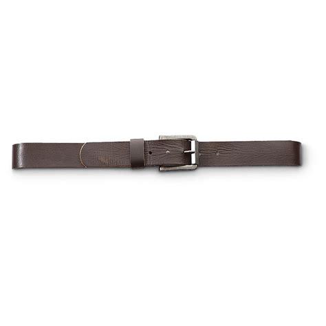 leather island 174 square buckle belt 225701 belts