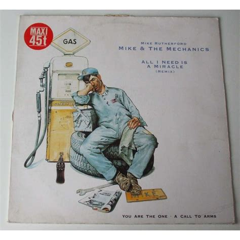 A Miracle all i need is a miracle by mike and the mechanics 12inch
