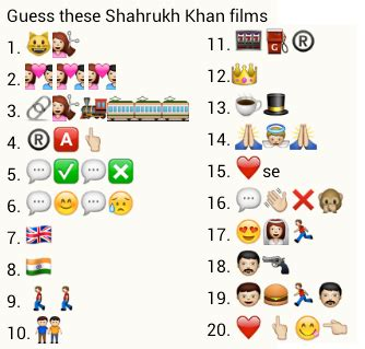 emoji bollywood film titles whatsapp puzzles 100 whatsapp movie puzzles with answers