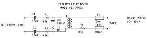 telephone interfacing circuits