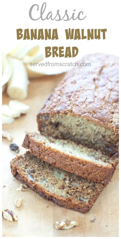 Banana Walnut Bread Machine Recipe 1000 Ideas About Banana Walnut Bread On Pinterest
