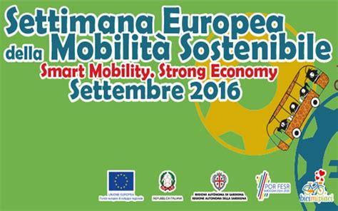 settimana europea della mobilita sostenibile programma