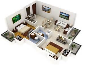 home plan designs plano de apartamento de 2 dormitorios y 2 ba 241 os