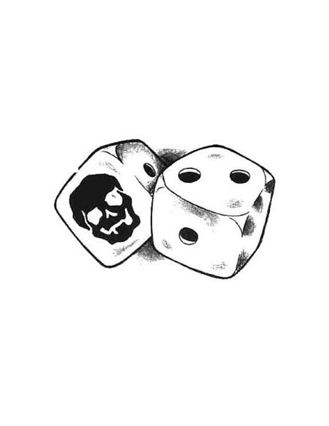 dice tattoo design dice images designs