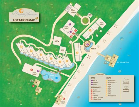 dorado resort map pin by soledad mari 241 as on el dorado maroma by